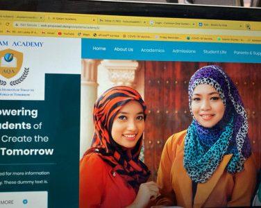 Al-Qalam Academy site