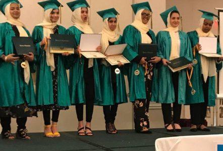 muslim graduation ceremony