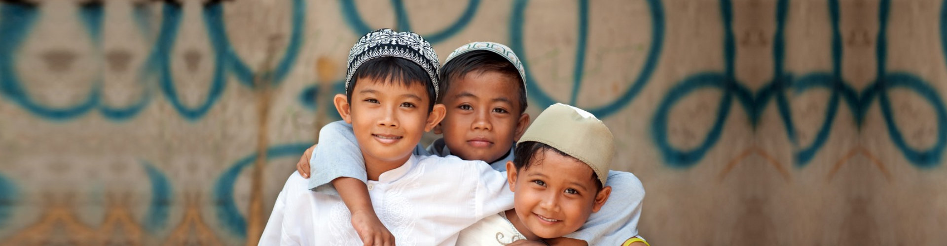 group of children are smiling